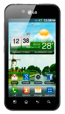 LG Optimus P970  Black
