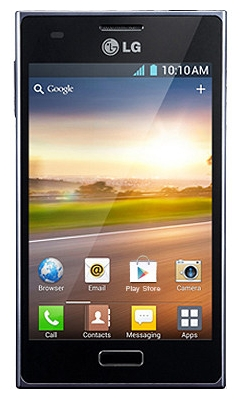 LG Optimus L5 Dual E615 Black