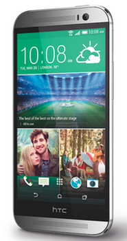 HTC One M8 16Gb 4G LTE Silver