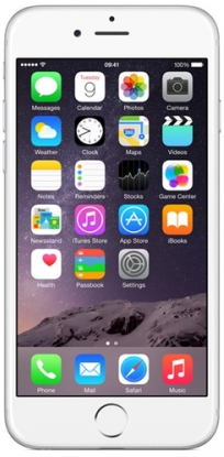 Apple iPhone 6 128Gb (A1586) 4G LTE Silver