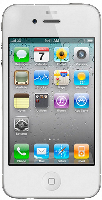 Apple IPhone 4 8GB White РСТ