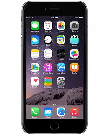 Apple iPhone 6 64Gb A1586 (MG4F2RU/A) 4G LTE Space Grey РСТ