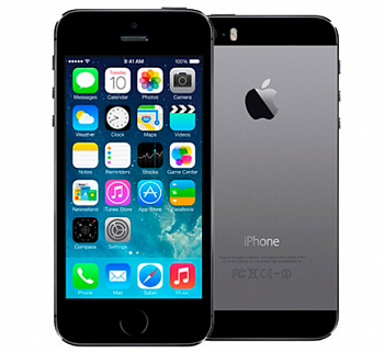 Apple iPhone 5S 16Gb Space Gray (ME432RU/A) LTE 4G