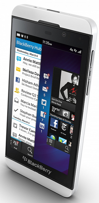 BlackBerry Z10 + 4G White