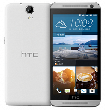 HTC One E9w 16Gb Dual Sim Silver/White