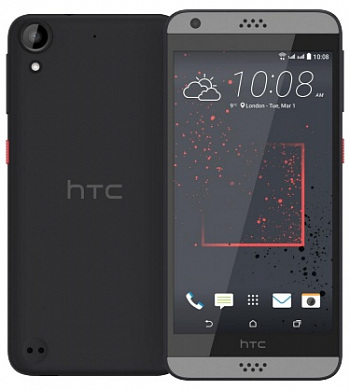 HTC Desire 630 Dual Sim Dark Grey РСТ